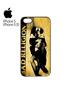 Bad Religion Kissing Nuns Sexy Mobile Cell Phone Case Cover iPhone 5&5s White