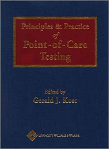 Free online audiobook downloads Principles and Practice of Point-of-Care Testing PDF FB2 iBook
