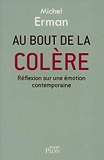 Au bout de la colère : réflexion sur une émotion contemporaine, Erman, Michel