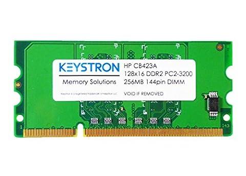 CB423A 256MB DDR2 144-pin DIMM Printer Memory for HP LaserJet P2055 P2055d P2055dn P2055x M2727nf P3005 P3005d P3005n P3005dn P3005x CM2320 CM2320fxi CM2320nf CP1515n CP1518ni CP2025n CP2025dn CP2025x CP5225x CP5225dn Laser Jet Pro - P2015x Laser Printer