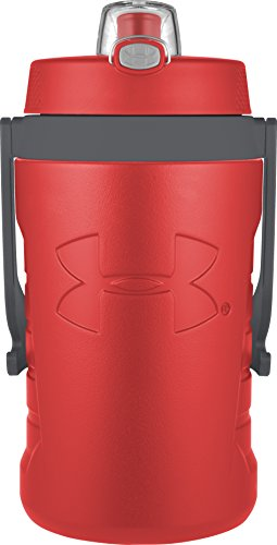 Under Armour Sideline 64 Ounce Water Bottle, Red