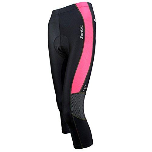 Santic Women's Cycling Compression Pants 3/4 Shorts 4D Pa...