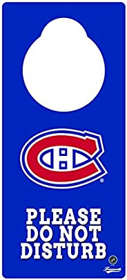Frameworth Montreal Canadiens Door Knob Hanger, One Size, Red