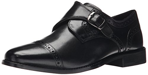 (Nunn Bush Men's Newton Monk Strap Oxford, Black, 11 W US)