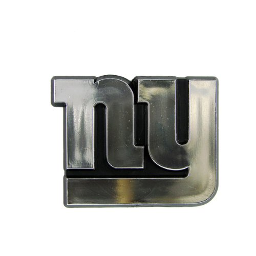 New York Giants Chrome 3D for Auto Car Truck Emblem Decal Sticker Football Licensed Team Logo
