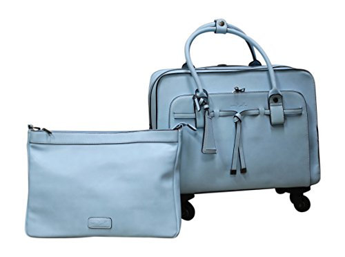 Simply Noelle All Tied Up Roller Bag (Carolina) by Simply Noelle