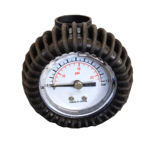 Newport Vessels Inflatable PSI Pressure Gauge Built for Stand Up Paddleboards by Newport Vessels