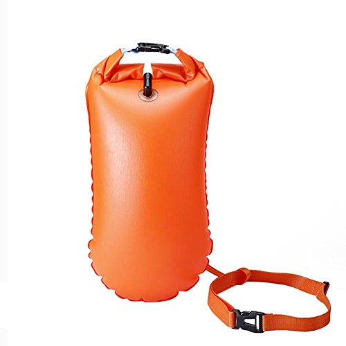 Bulary Outdoor Swimming Buoy Multifunctional Swimming Drifting Bag Open Water Swimming Training Buoy by Bulary