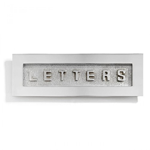 Chrome Mail Slot - Naiture Contemporary Solid Brass
