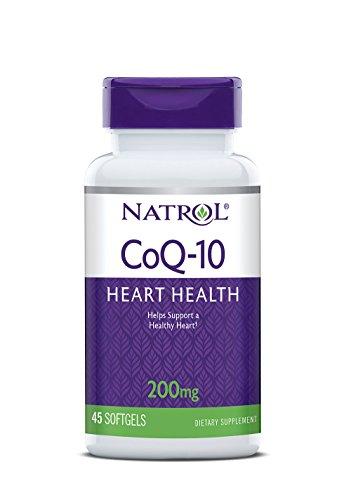 Natrol CoQ 10 200mg Softgels Count