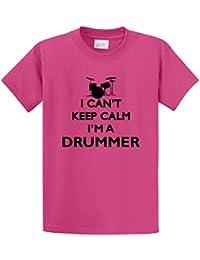 Men's I Can't Keep Calm I'm A Drummer Shirt T-Shirt