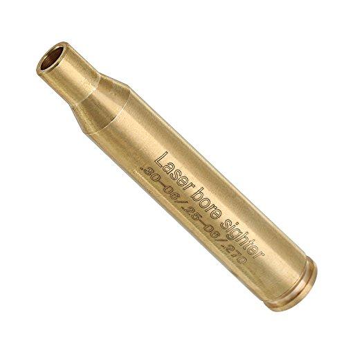 .30-06 .25-06 .270 Laser Bore Sighter Red Dot Sight Brass Cartridge Bore Sighter Caliber