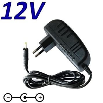 "Cargador Corriente 12V Reemplazo Tablet Carrefour Touch CT1002 10"" Android Recambio Replacement"