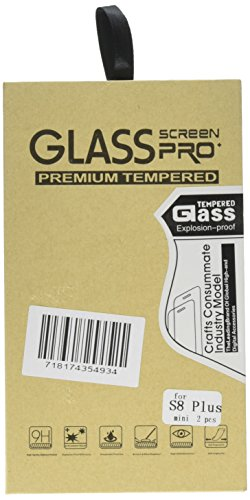 XKAUDIE cqw11 [2-Pack] Samsung Galaxy S8 Plus Screen Protector, Half Screen Tempered Glass Screen Protector [Case Friendly] [Anti-Scratch][Anti-Fingerprint][Bubble Free] for Samsung Galaxy S8 Plus