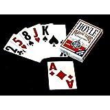 (1) Hoyle Super Jumbo Bridge-Size Deck of Playing Cards (Single Pack)