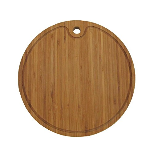 (Bamboo Round Cutting Board 12