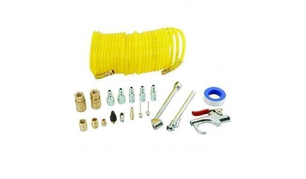 Neumático Central 20 piezas Compresor de aire Kit de inicio: Amazon.es: Bricolaje y herramientas