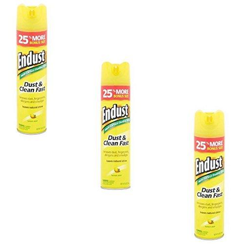 Endust Dust Cleaner - Endust Lemon Zest Multi-Surface Dusting & Cleaning Spray