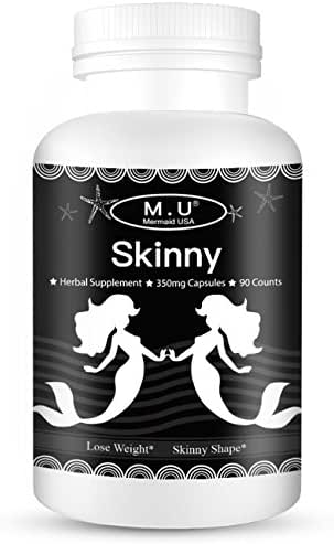 Skinny Mermaid USA M.U Support Lose Weight Healthy Pills Nature Herbal Power to be Supper Skinny and high-Class