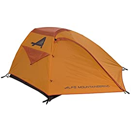 ALPS Mountaineering Zephyr 2-Person Tent, Copper/Rust 1 There's no assembly frustration with our Zephyr Tent series; this free-standing, aluminum two-pole design can be setup in no time Polyester tent fly resists water and UV damage while adding two vestibules for extra storage Great ventilation with two mesh doors and entire mesh walls