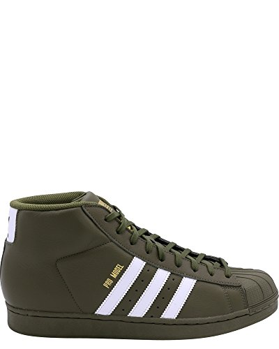 adidas Mens Pro Model Sneaker,Olive/Cargo,11