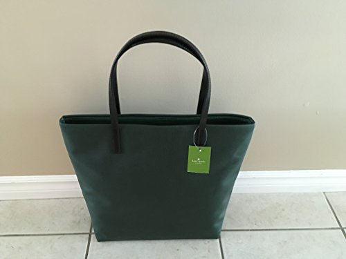 Kate Spade Crazy Like A Fox Blaze A Trail Bon Shopper Dark Green Tote Bag Wkru3890