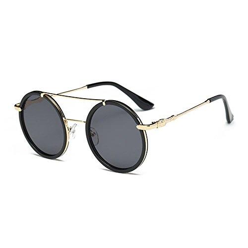 Dorara Round Retro Polaroid Sunglasses Driving Glasses Men or Women - 1970s Sunglasses Polaroid