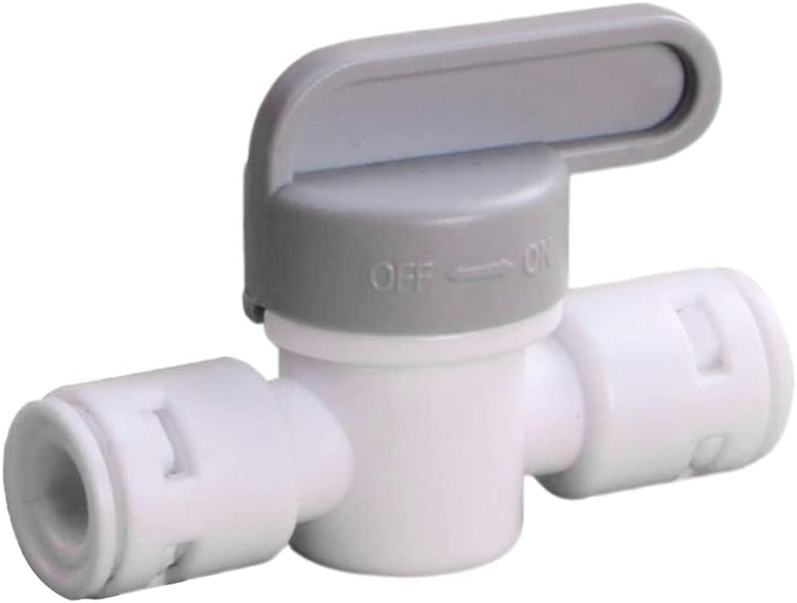 WY-YAN HZR Water Purifier Valve Quick Connection Durable Flexible Adjustable Convenient to Use Compact