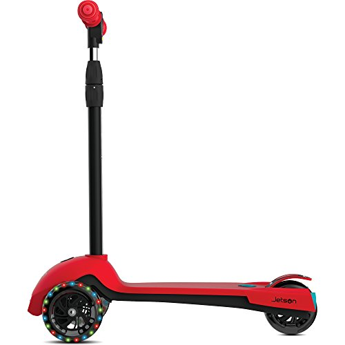 (Jetson Mist 3-Wheel Kick Scooter with Rear Rocket Misters, Lean-to-Steer Design & Light-Up Wheels, for)