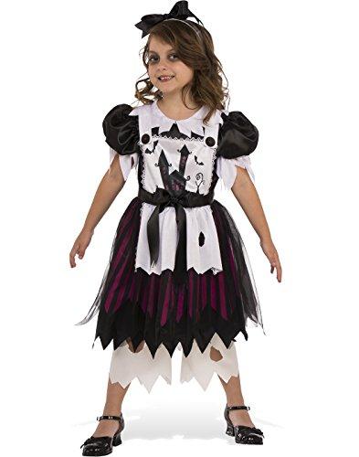 Broken Doll Clothing - Rubies Child's Little Broken Doll Costume, Large, Multicolor