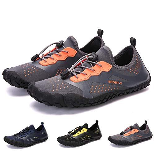 Bridawn Hiking Unisex Quick Dry Barefoot Water Upstream Lightweight Aqua Sports Shoes