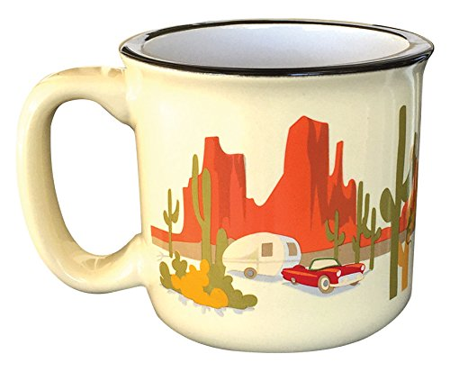 Camp Casual CC-004Y Desert Dreamin' Mug (Classic Coffee Mug)