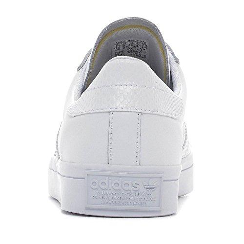 Adidas Originals Courtvantage Mens Formateurs Style Bb0147 Blanc / Blanc / Or