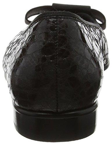 Gabor Women's Basic Ballet Flats Black (40 Schwarz) nTGXtb5fV