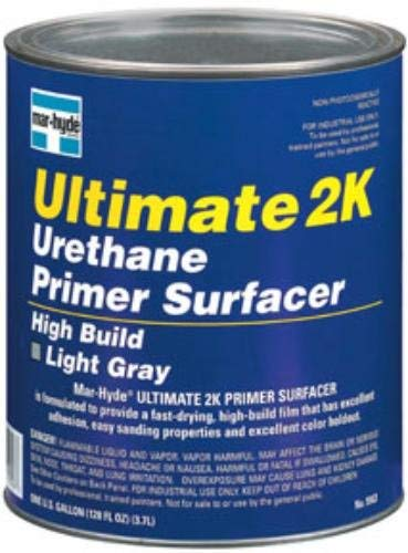 Mar-Hyde Ultimate 2K Urethane Tintable Primer Surfacer - Gray, 1-Gallon (MHD-5563)