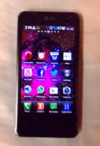LG P990EUBLK Optimus 2X Android Smartphone with 8 MP Camera, Touchscreen, Dual Core Processor and Wi-Fi - No Warranty - Black