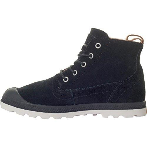 Alto Schwarz Collo Donna London a Sneaker W Mid Cuerdo Black Lp Palladium ZwzqO0n