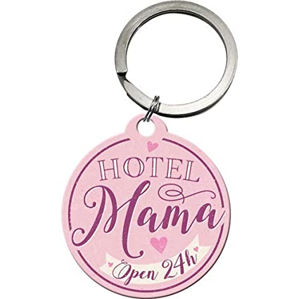 Nostalgic-Art 48031 Word Up Hotel Mama, Llavero de Metal ...