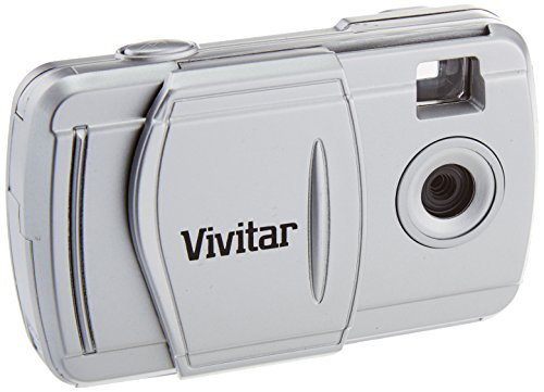 Vivitar V69379-SIL 3-IN-1 2 MP Digital Camera - Body Only (Silver) by Vivitar