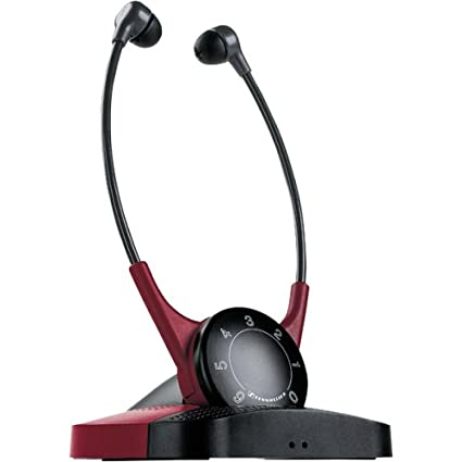 ace369384a2 Amazon.com: Sennheiser Set 810 Ergonomic Personal Infrared TV Assistive  Listening System (Discontinued by Manufacturer): Home Audio & Theater