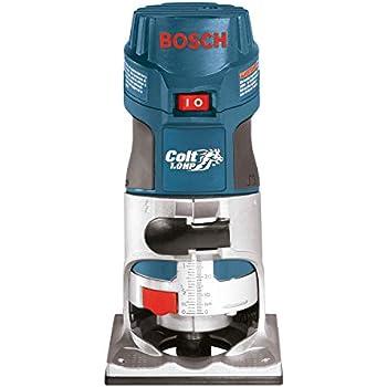 Bosch Colt 1 Horsepower 5 6 Amp Electronic Variable Speed