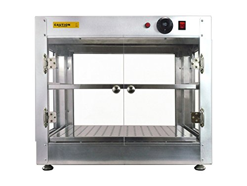 New Commercial Counter Top Food Pizza Pastry Warmer Wide Display Case 20'' x 20'' x 24'' by MTN Gearsmith (Image #3)