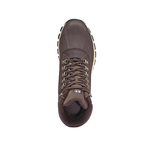 Waterproof Leather KINGSHOW Winter Men Boots Brown HDP Snow Warm tnwRzpFpqS