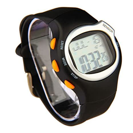 Fitness pulsómetro checada 6-en 1 reloj corriendo: Amazon.es ...