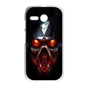 Transformers Decepticon Red Eyes Motorola G Cell Phone Case White toy pxf005_5810846