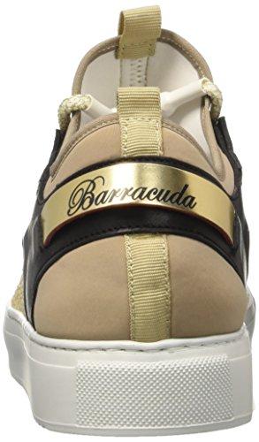 Bassi Barracuda Donne Multicolore beige Delle Formatori multicolore Bd0704 rfxHqEr