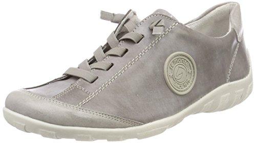 Ice Gris R3445 Femme Sneakers Basses Basalt Remonte CwFSgqS