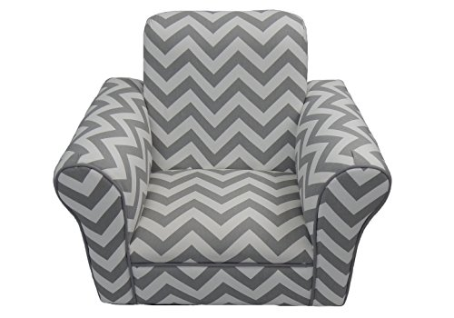 Fun Furnishings Grey Chevron Toddler Rocker Review