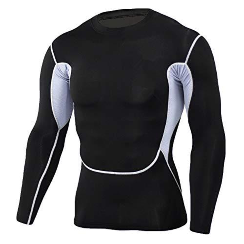 Solike Manches Noir T Tops Pantalon Longues Sport Camouflage À Rapide Ensemble De Homme Séchage Gym Moulant Combinaison Fitness shirt Musculation rrSwxH