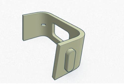 For Fitbit Charge HR Replacement Plastic Band Clip Button Charging Clasp US